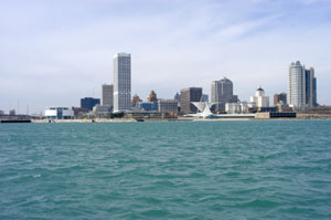 Milwaukee, WI skyline