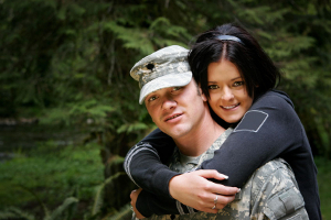 Military couple refinance