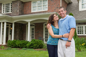 Couple getting second mortgage