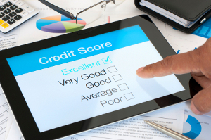Credit score table for VA