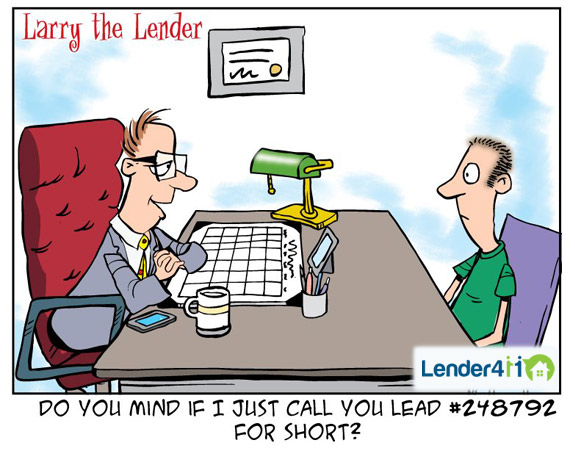Larry the Lender - Lead Number